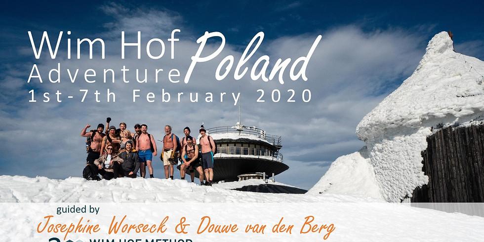 Wim Hof method travel to Poland