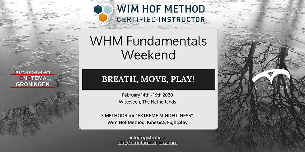WHM weekend: Breath, Move, Play