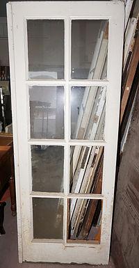 8 Lite Single French Door
