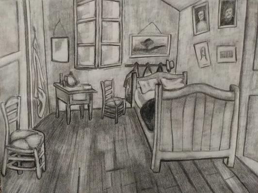 """Van Gogh's """"Bedroom at Arles"""""""