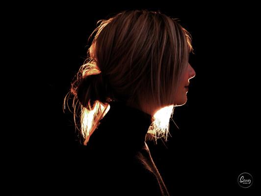 Warm Profile Portrait