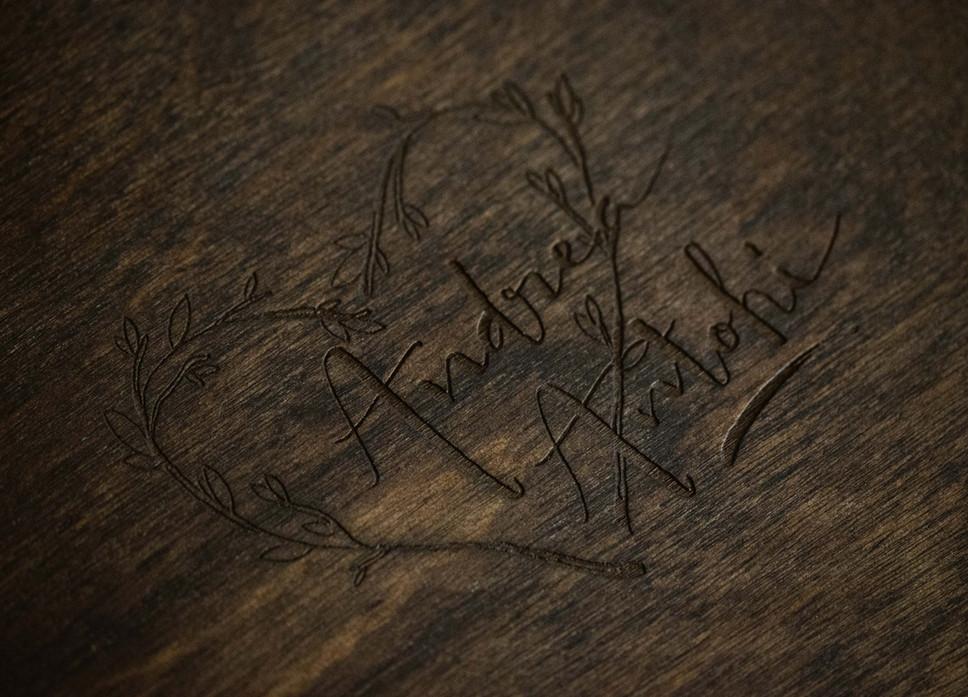 Wooden box Andrea Antohi 2
