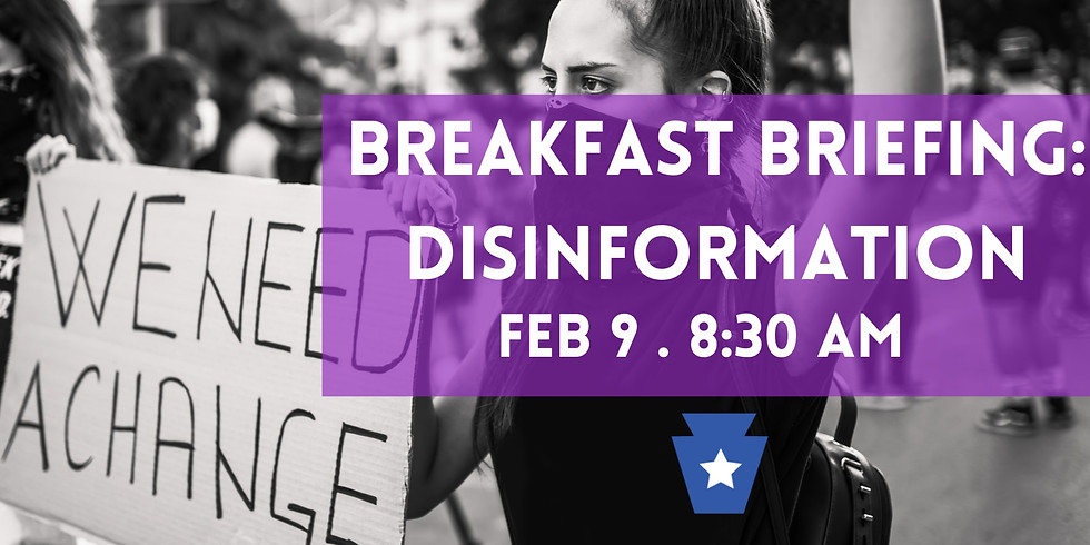 Breakfast Briefing – Tackling disinformation campaigns and winning