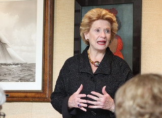 Our Luncheon with Senator Debbie Stabenow