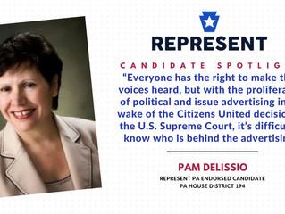 Candidate Spotlight: Pam DeLissio