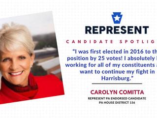 Candidate Spotlight: Carolyn Comitta
