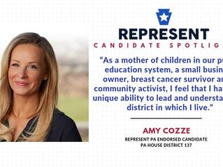 Candidate Spotlight: Amy Cozze
