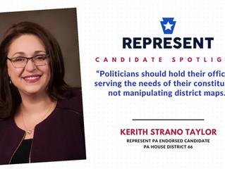 Candidate Spotlight: Kerith Strano Taylor