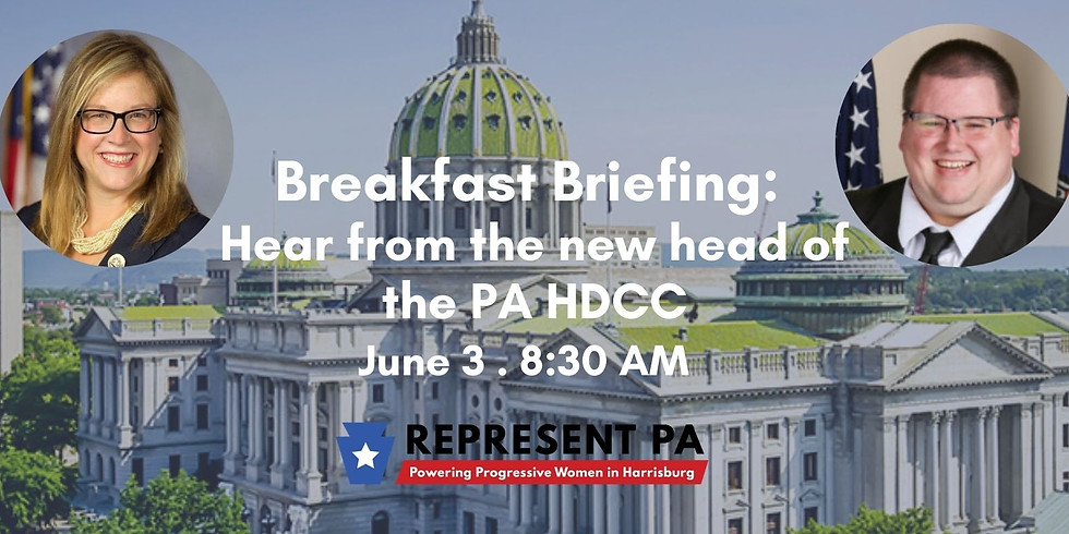 Breakfast Briefing -  Hear from the new head of the PA HDCC