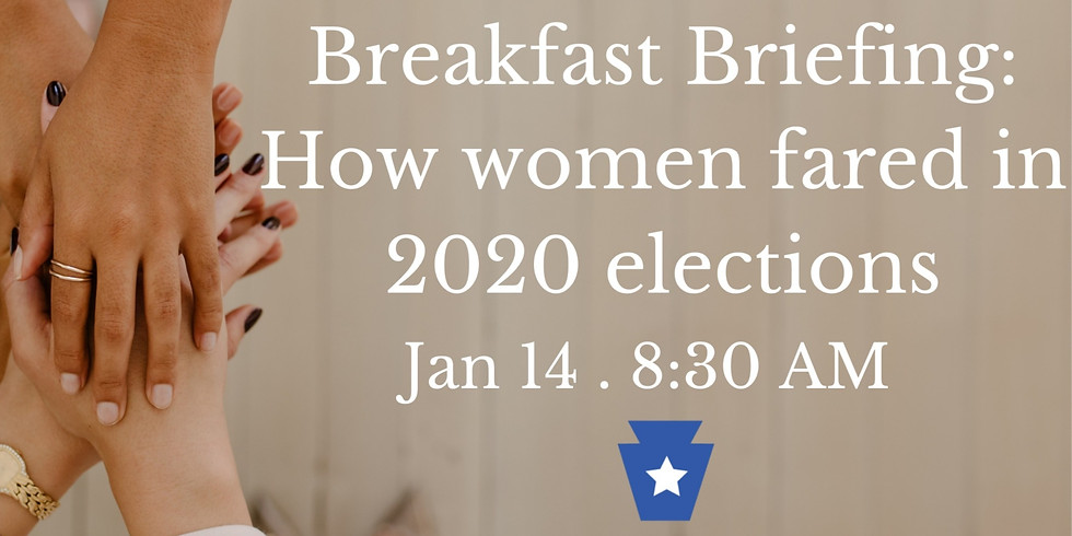 Breakfast Briefing: How did women fare in 2020 elections?