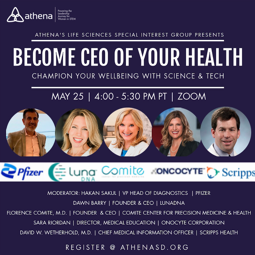 Become CEO Of Your Health: Champion Your Wellbeing with Science & Tech