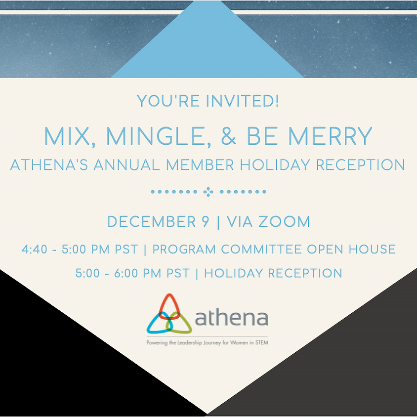 Athena's Mix & Mingle Holiday Reception