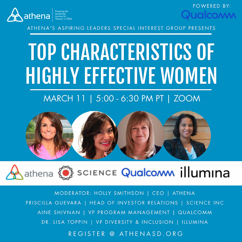 Top Characteristics of Highly Effective Women