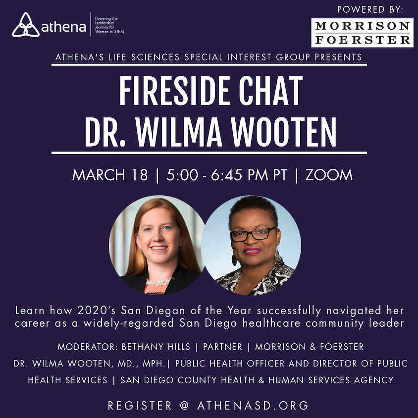 Fireside Chat with Dr. Wilma Wooten
