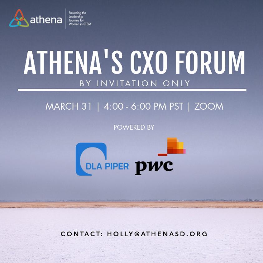Athena's CXO Forum 2021 | By Invitation