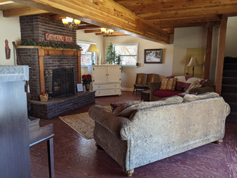 Cozy Fireplace for winter guests