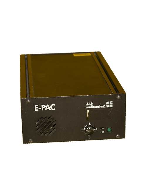 D&B Audiotechnik E-pac (E9/C6/etc.)