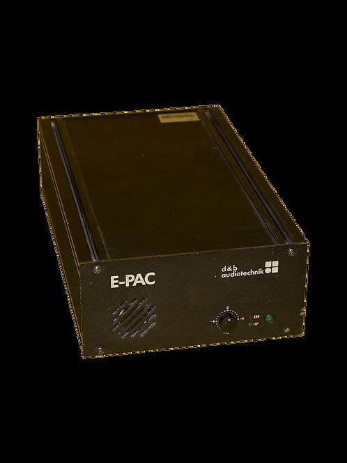 D&B Audiotechnik E-pac (E3/etc.)