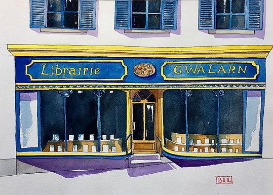 Librairie GWALARN