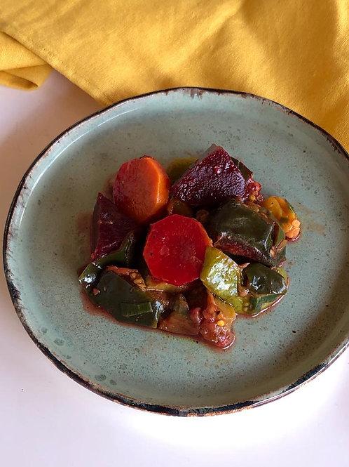 Mix de legumes assado