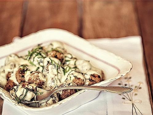 Carne ao Molho de Gorgonzola