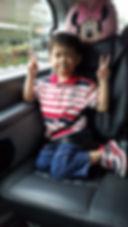 A boy Book a Maxi Taxi Online
