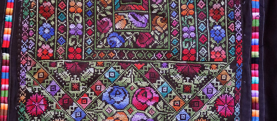 My Grandmother's Qabbah – A Magical Pocket and a Brief Overview of  Palestinian Chest Pieces