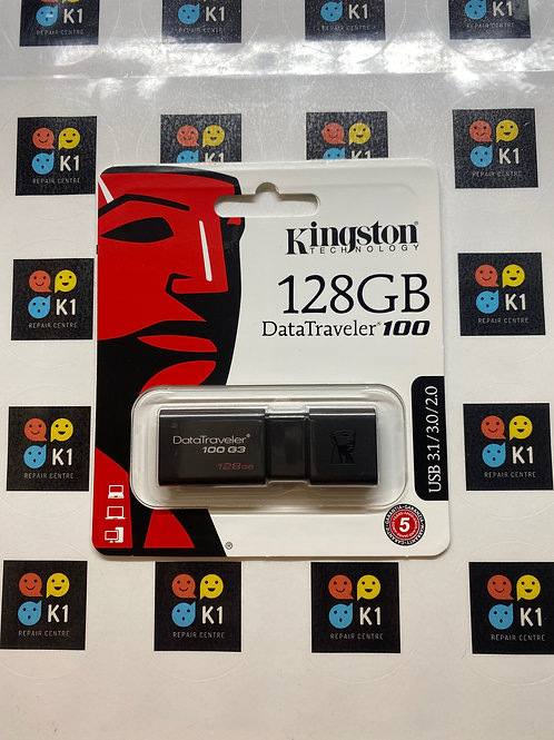 128GB Kingston Data Traveler 100  G3 USB Flash Drive