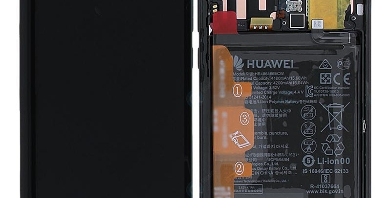 Huawei P30 LCD Screen Repair Service