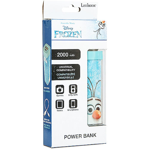 LEXIBOOK DISNEY FROZEN 2000MAH POWER BANK
