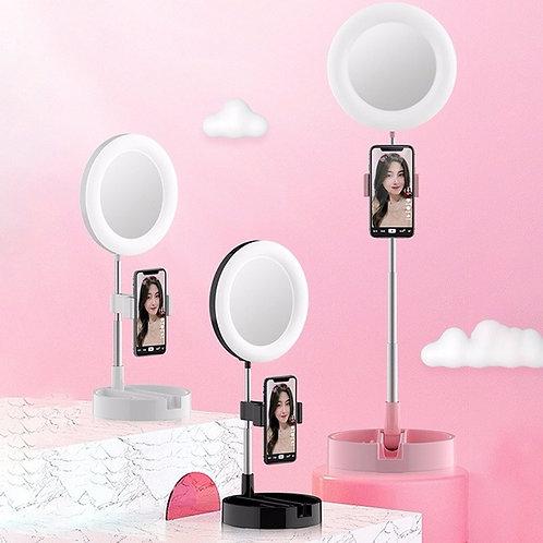 LED Ring Light Makeup Mirror