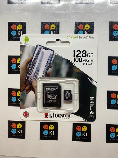 128GB Kingston Micro SD / SD Memory Card