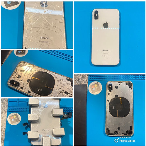 iPhone Back Glass Repair's Service by Mail