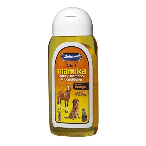 Johnsons 2 in 1 Manuka Honey Shampoo