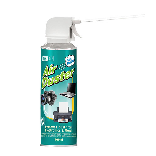 Dust-Air 400ml Compressed Air Duster Can