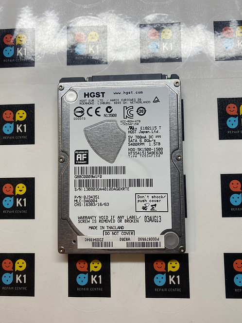"1.5TB HGST 2.5"" Internal Hard Drive"