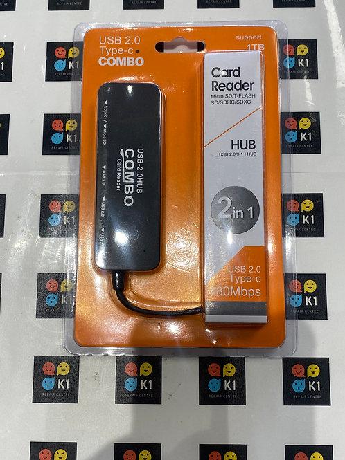 USB 2.0 Type-C Combo