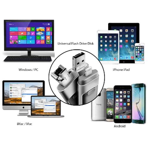 128GB iFlash USB Drive IOS, Android, Windows, Mac