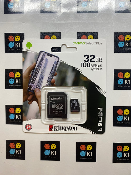 32GB Kingston Micro SD / SD Memory Card