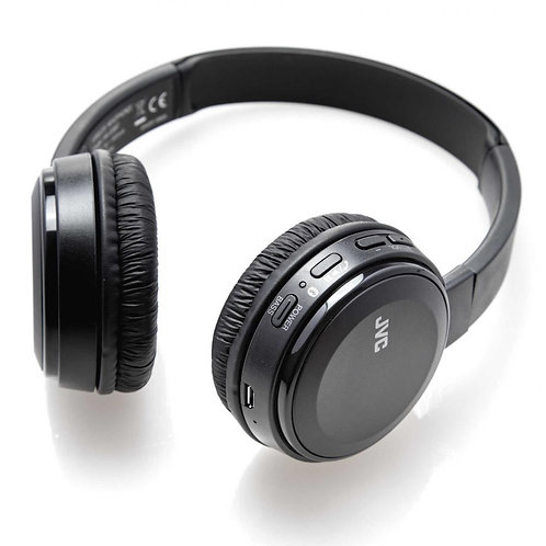Brand New JVC Bluetooth Stereo Headphone HA-S30BT-R in Black