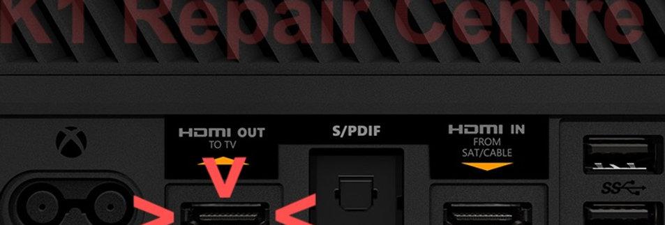 xBox One HDMI Port Connector Repair Service