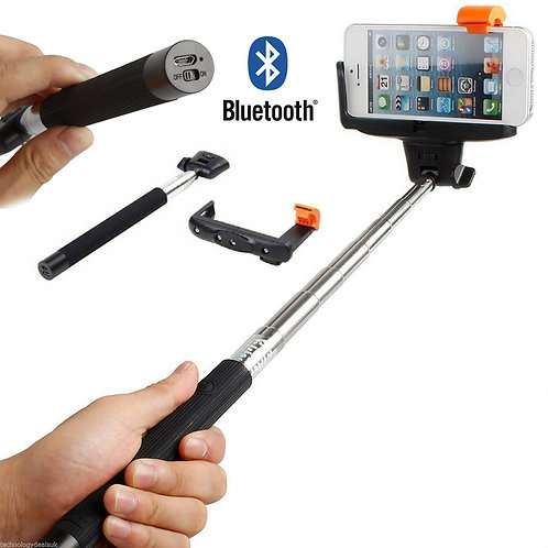 Wireless Extendable Monopod Selfie Stick