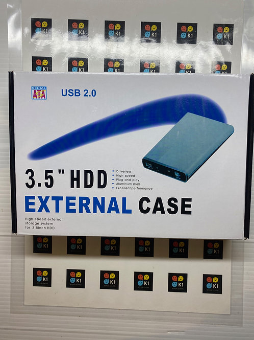 "Hardisk External 3.5"" ATA USB 2.0 HDD Case HDD Enclosure"