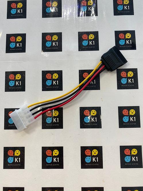 15cm LP4 to SATA Power Cable