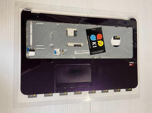 Genuine HP 15-G094sa Palmrest Purple