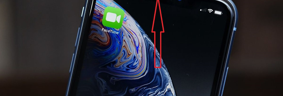 iPhone Front FaceTime Microphone Repair Service