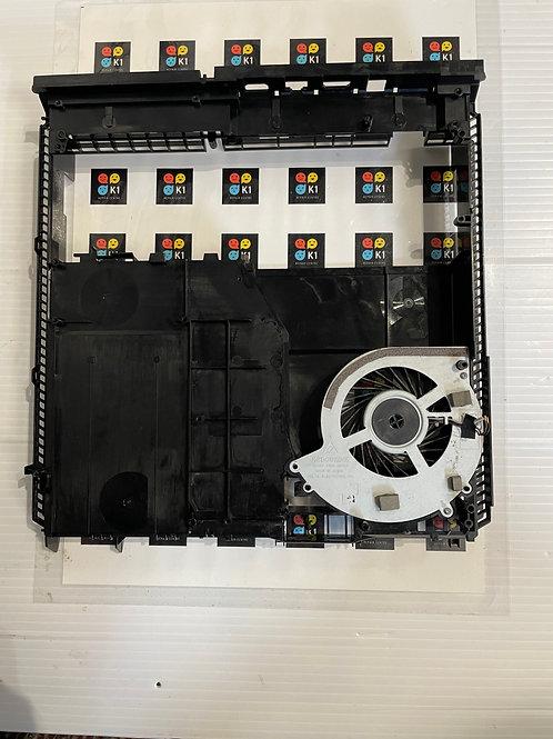 Genuine Sony Playstation 4 Black Middle Housing incl. Fan