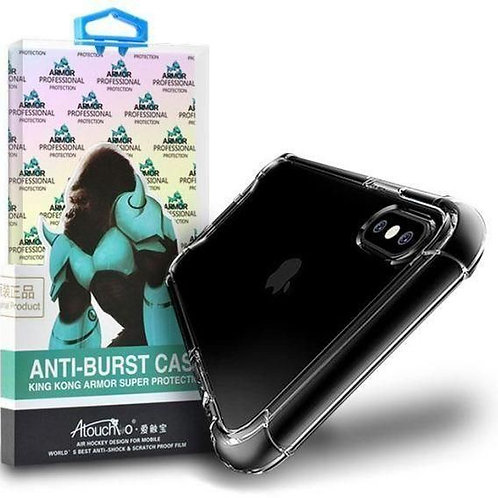 Anti Burst King Kong Armour Super Protection Cover/Case for iPhone XR CLEAR