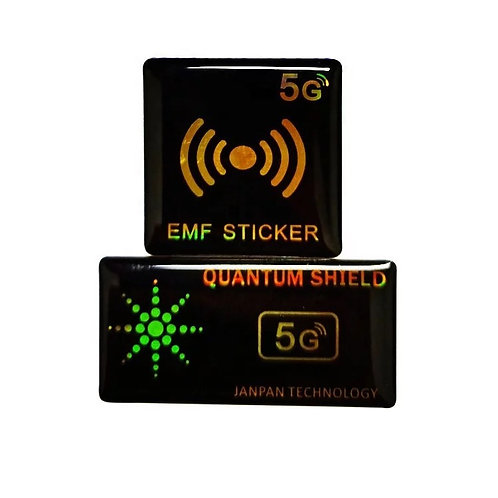 5G Mobile Phone Battery Emr Sticker Hand Anti Radiation Reducer quantum Shield