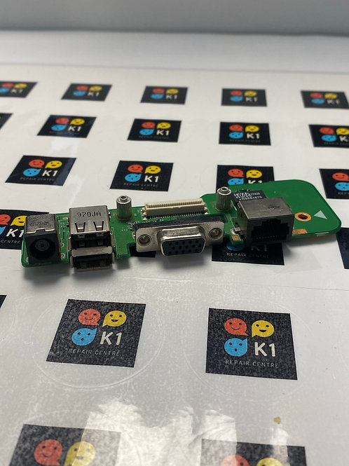 Dell Inspiron 1545  DC Jack, USB, LAN, VGA Board